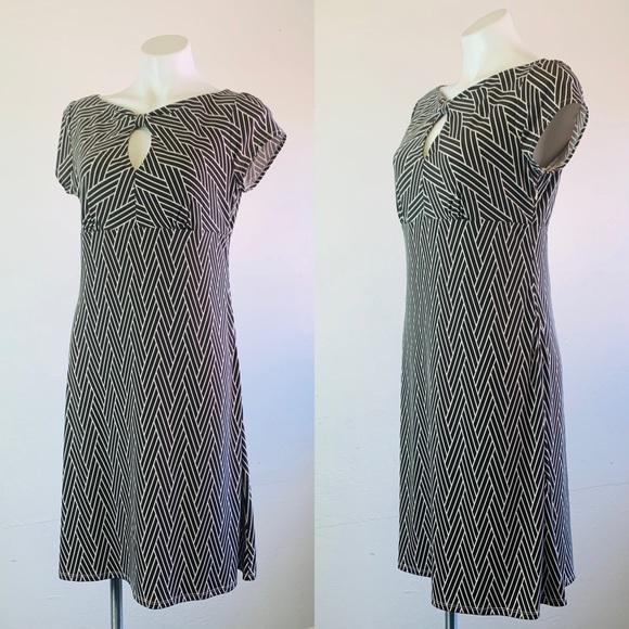 Ann Taylor Geometric Print Dress Size 8